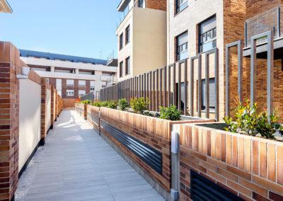 Residencial Adagio by Vivarte acceso jardines