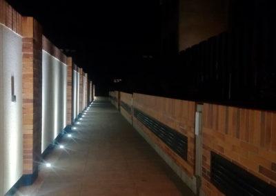 Residencial Adagio by Vivarte iluminación nocturna