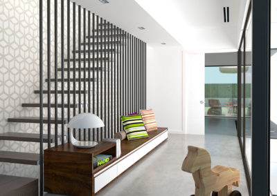 Residencia Atrio Boadilla escalera
