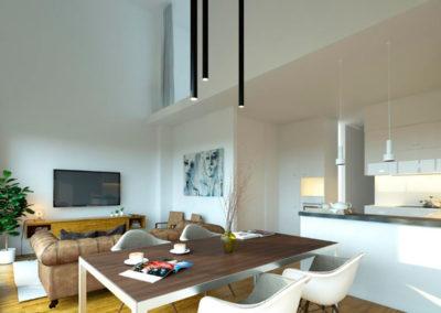 Residencial Monteagreste Galapagar sala de estar