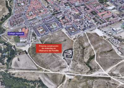 Villanueva del Pardillo Vivarte Plano de situación